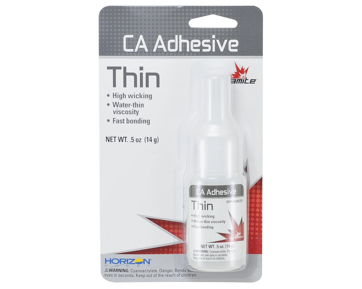 Thin CA Tire Glue (.5oz) by Dynamite