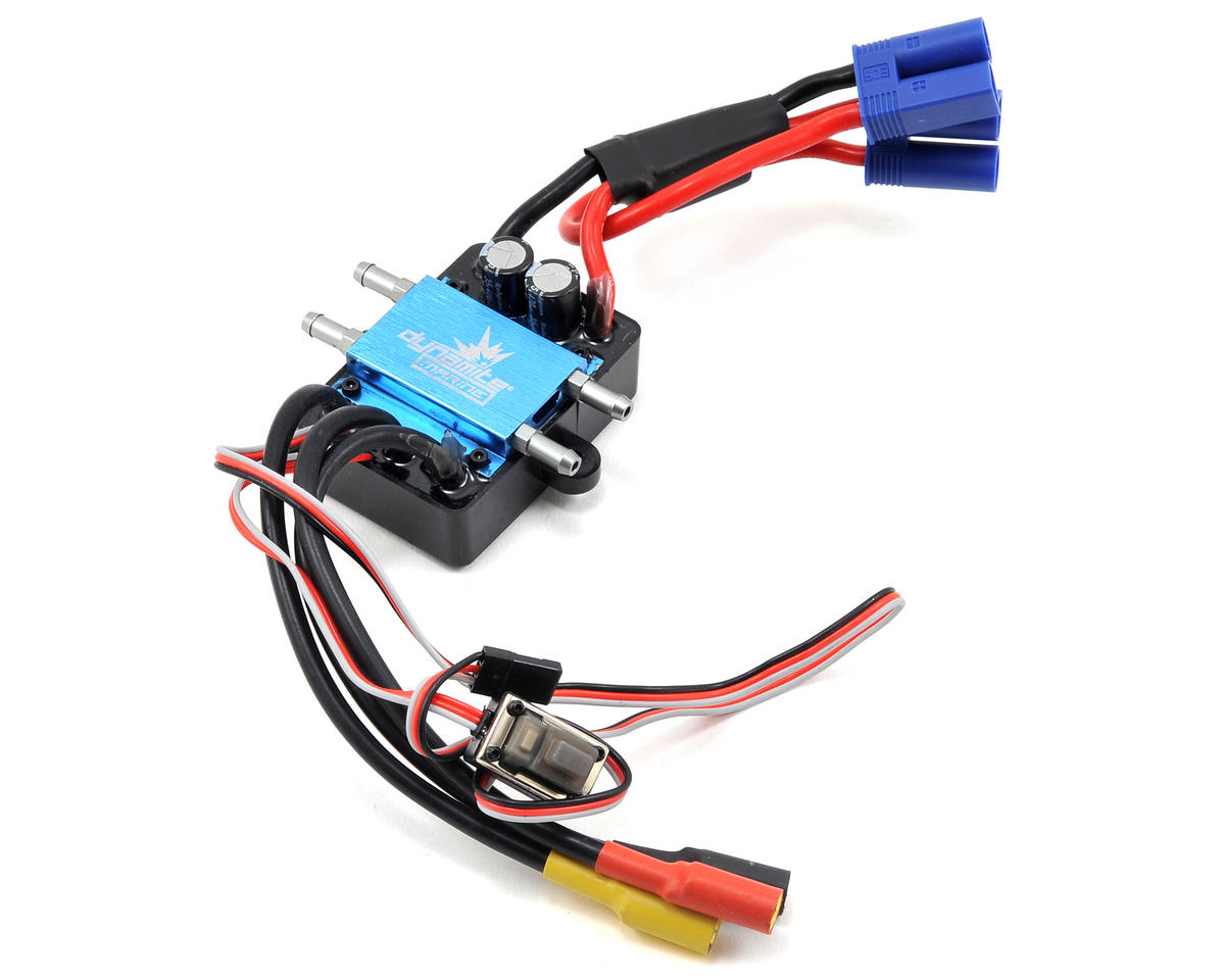120A Brushless Marine ESC 2-6S by Dynamite