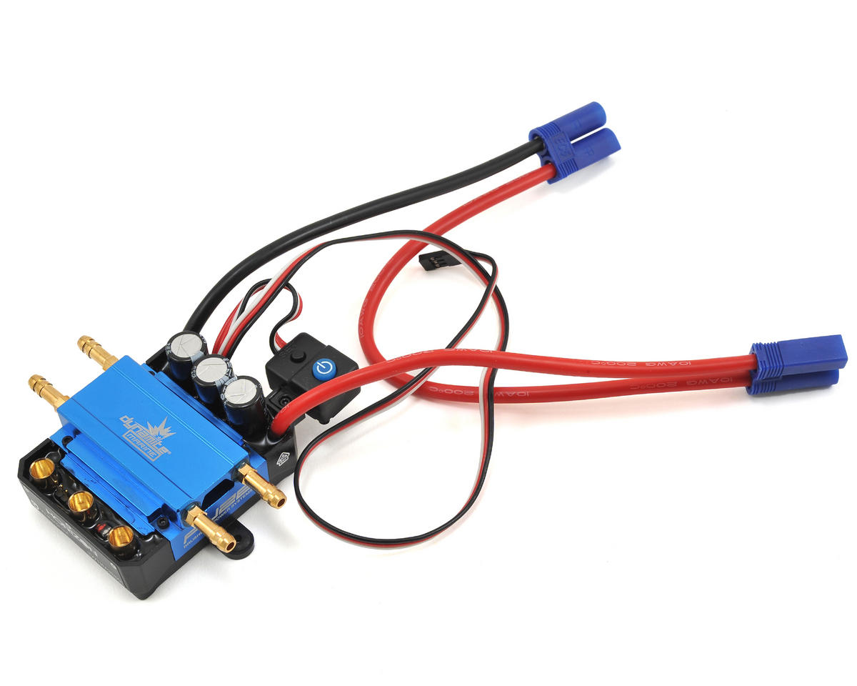 160A Brushless Waterproof Marine ESC (3-8S) by Dynamite (Pro Boat Zelos 48)