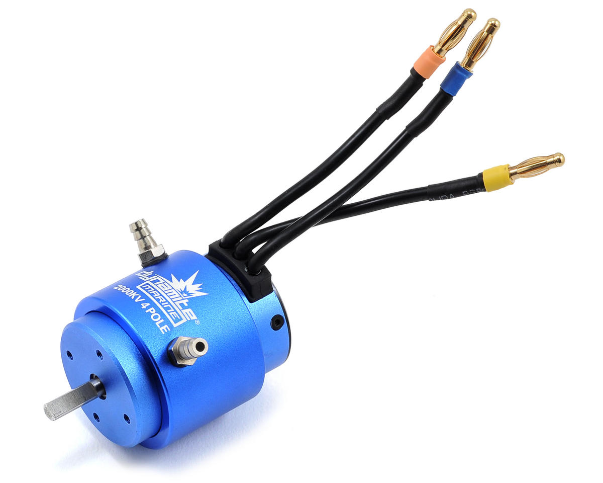 Dynamite 3650 4-Pole Brushless Marine Motor (2000kV) (Pro Boat ShockWave 26 BL)