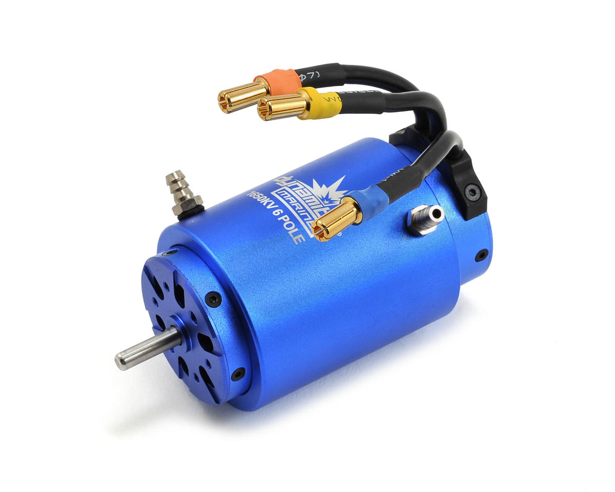 6-Pole Marine Brushless Motor (1650kV) by Dynamite