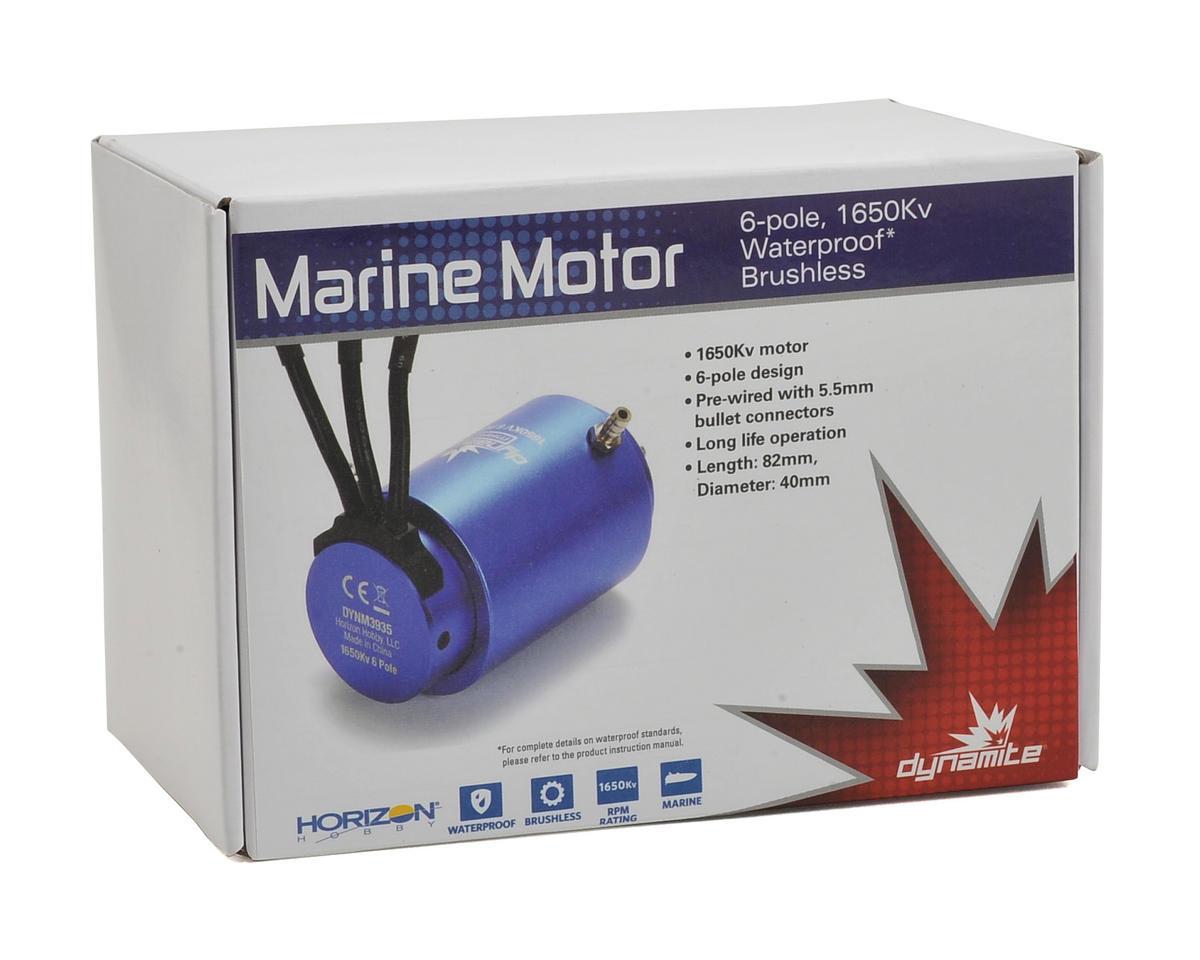 Dynamite 6-Pole Marine Brushless Motor (1650kV)