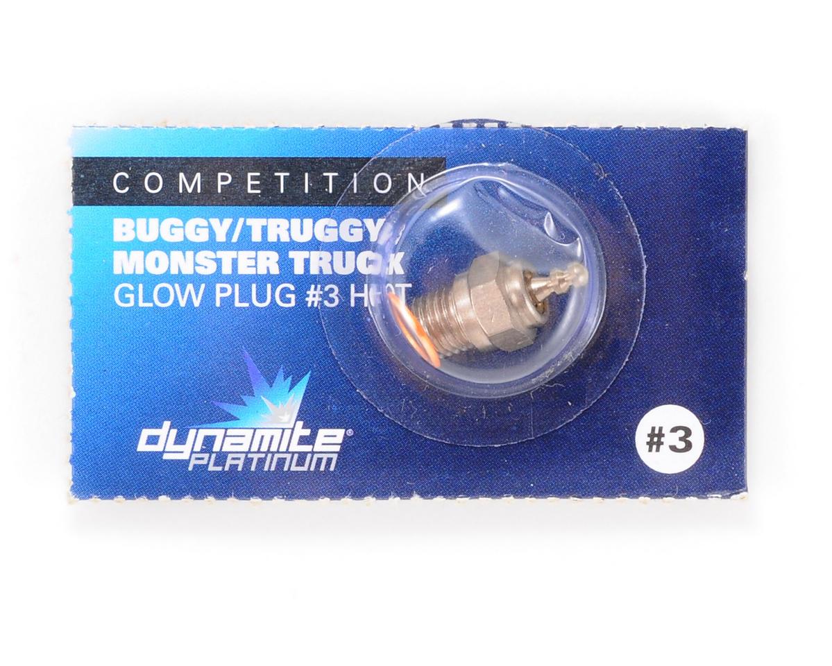 Dynamite Platinum Glow Plug  #3 Hot DYNP5603