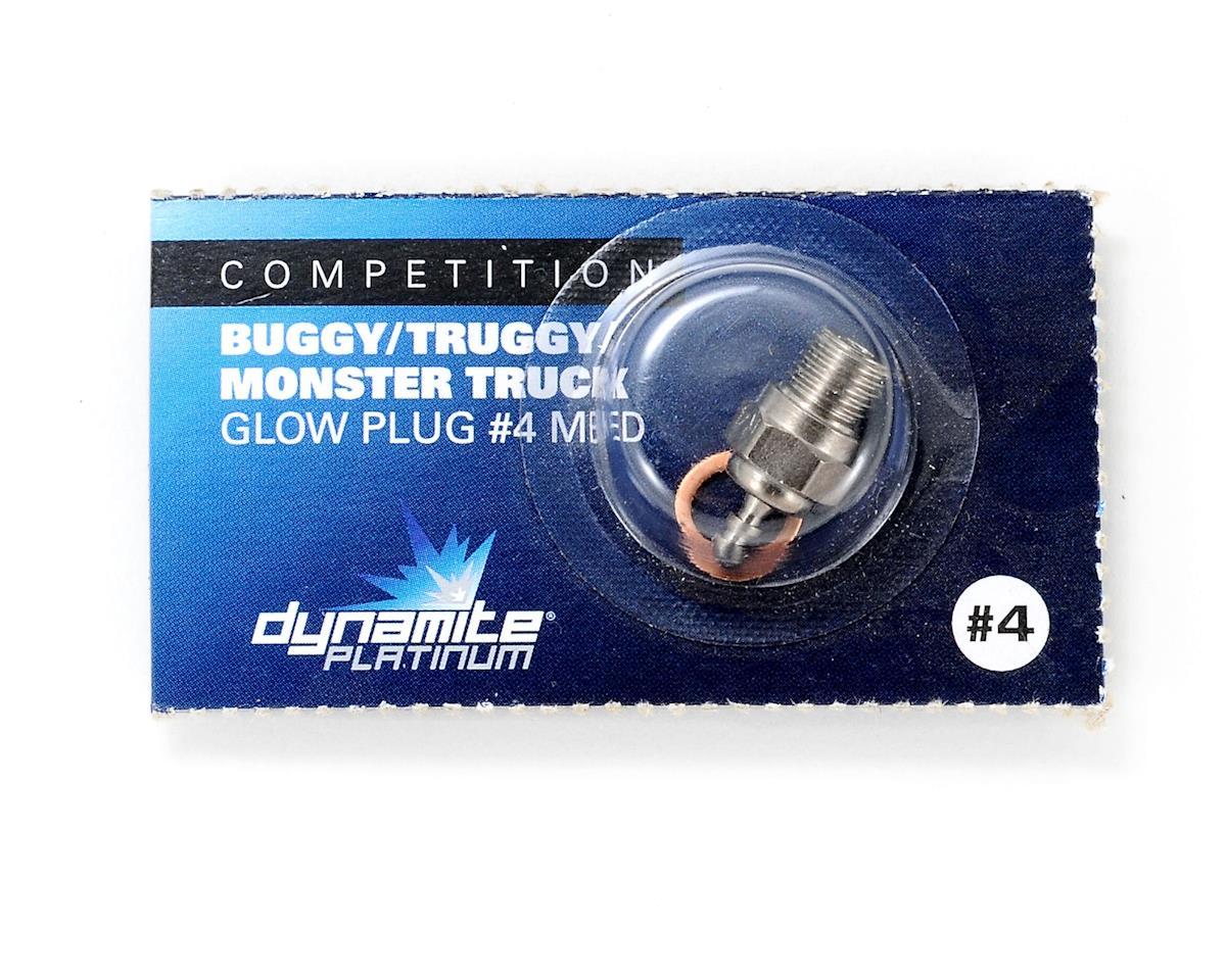 Dynamite Platinum Series Standard Glow Plug (#4 - Medium)
