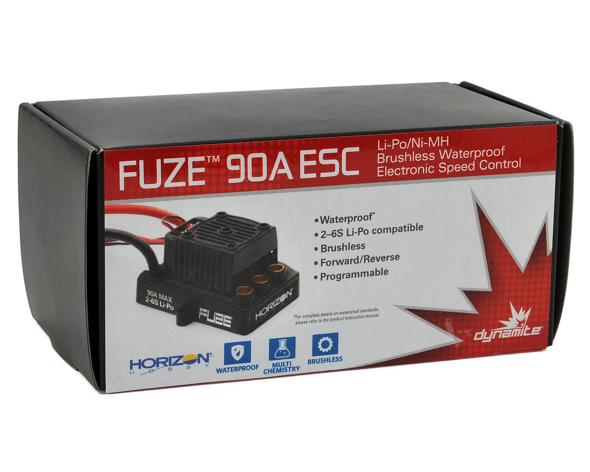 Dynamite Fuze 90A Waterproof Brushless ESC