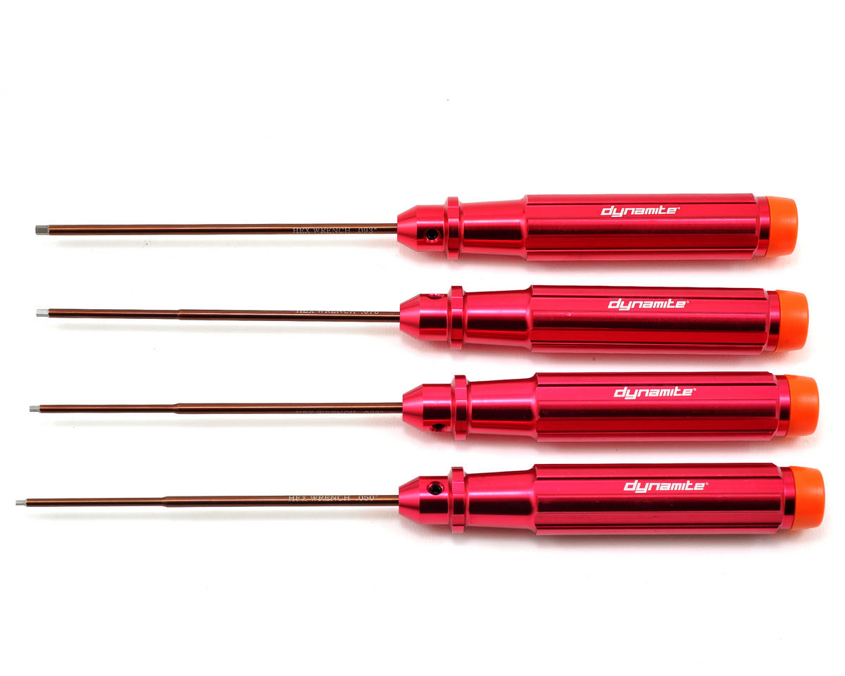 Dynamite Machined Standard Hex Driver Set (4)