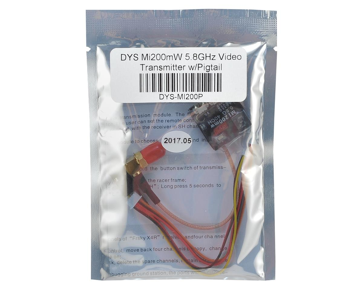 DYS Mi200mW 5.8GHz Video Transmitter w/Pigtail (SMA)