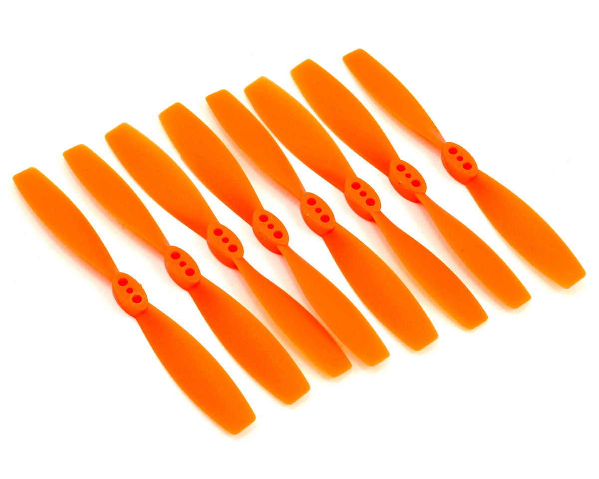 3x2 ABS Micro Propeller Set (Orange) (4 CW/4 CCW) by DYS