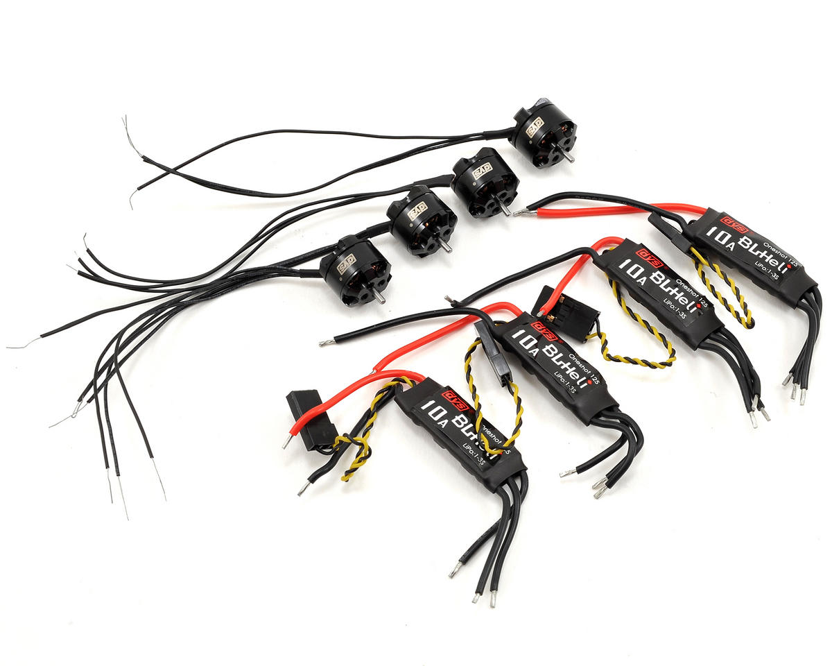 DYS F1104 Tiny Power Combo Kit w/Motors, ESCs & Props