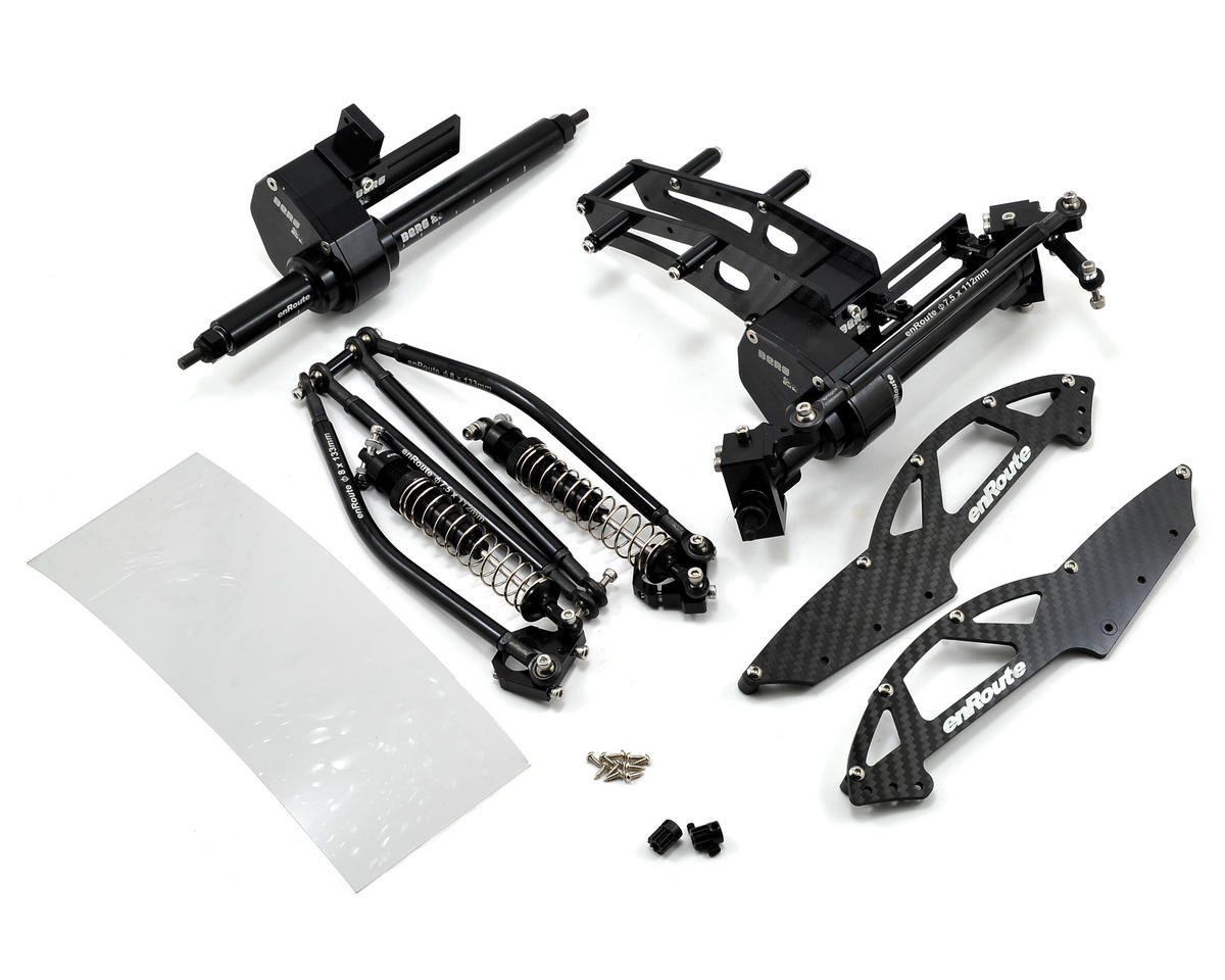 enRoute Berg 2.2 Tracer V3 Rock Crawler Chassis Kit (No Wheels/Tires)