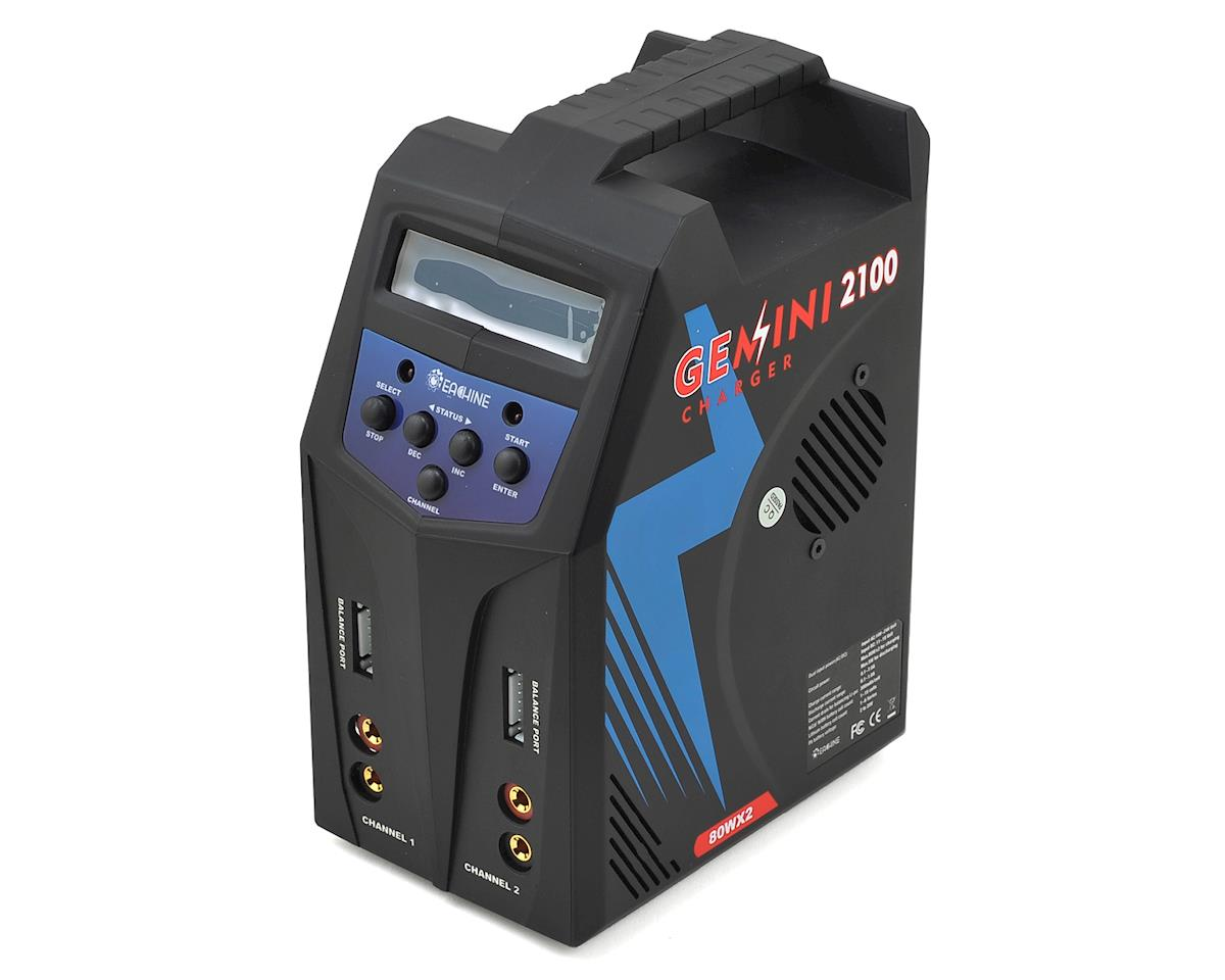 Eachine Gemini 2100 Dual AC/DC Balance Battery Charger (6S/7A/80Wx2)