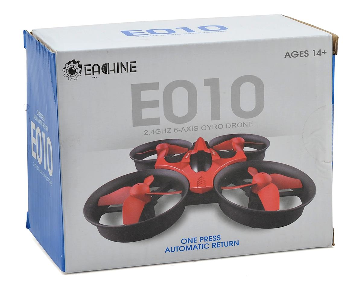 Eachine E010C Micro FPV Quadcopter (Red)