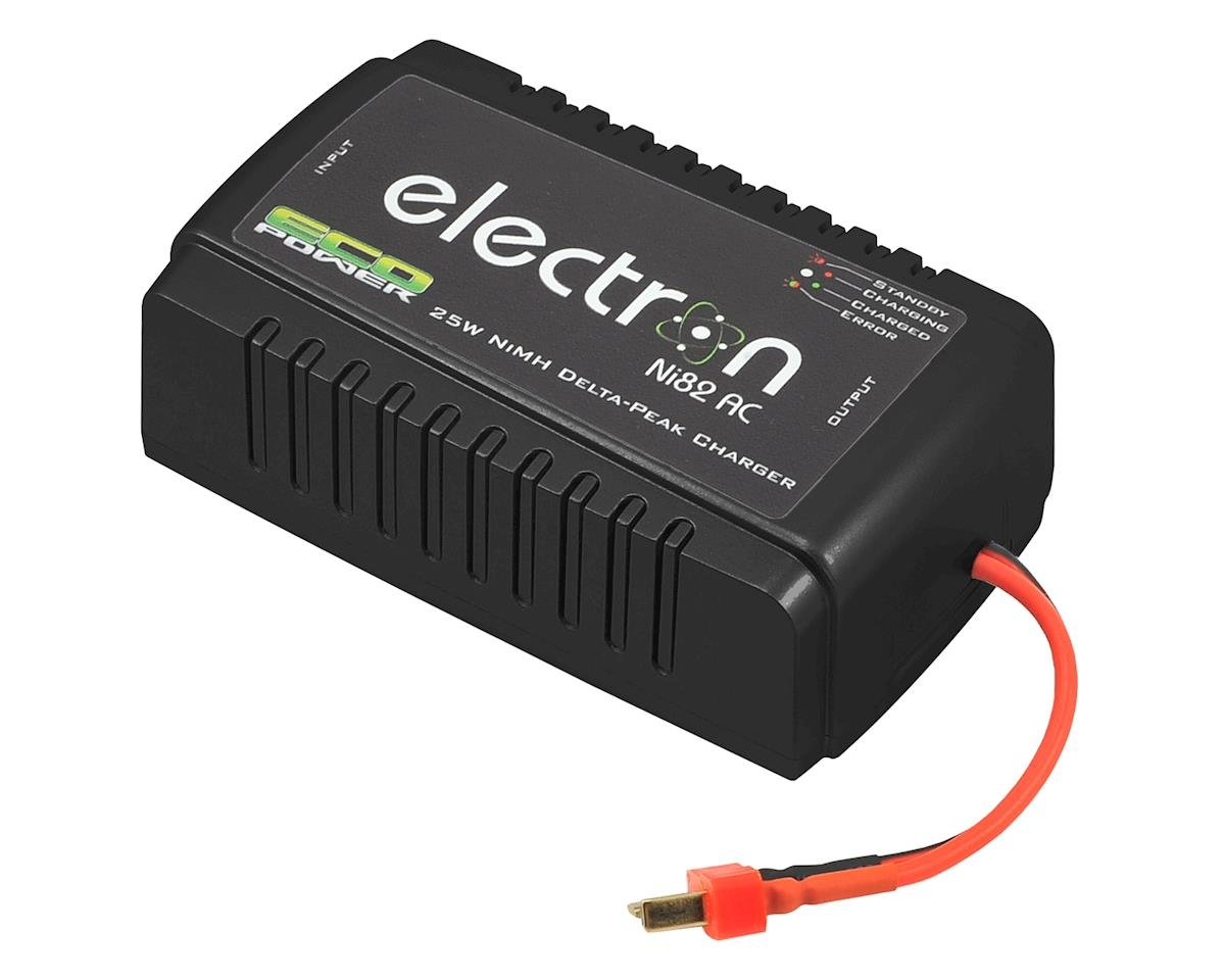 """Electron Ni82 AC"" NiMH/NiCd Battery Charger (1-8 Cells/2A/25W) by EcoPower"