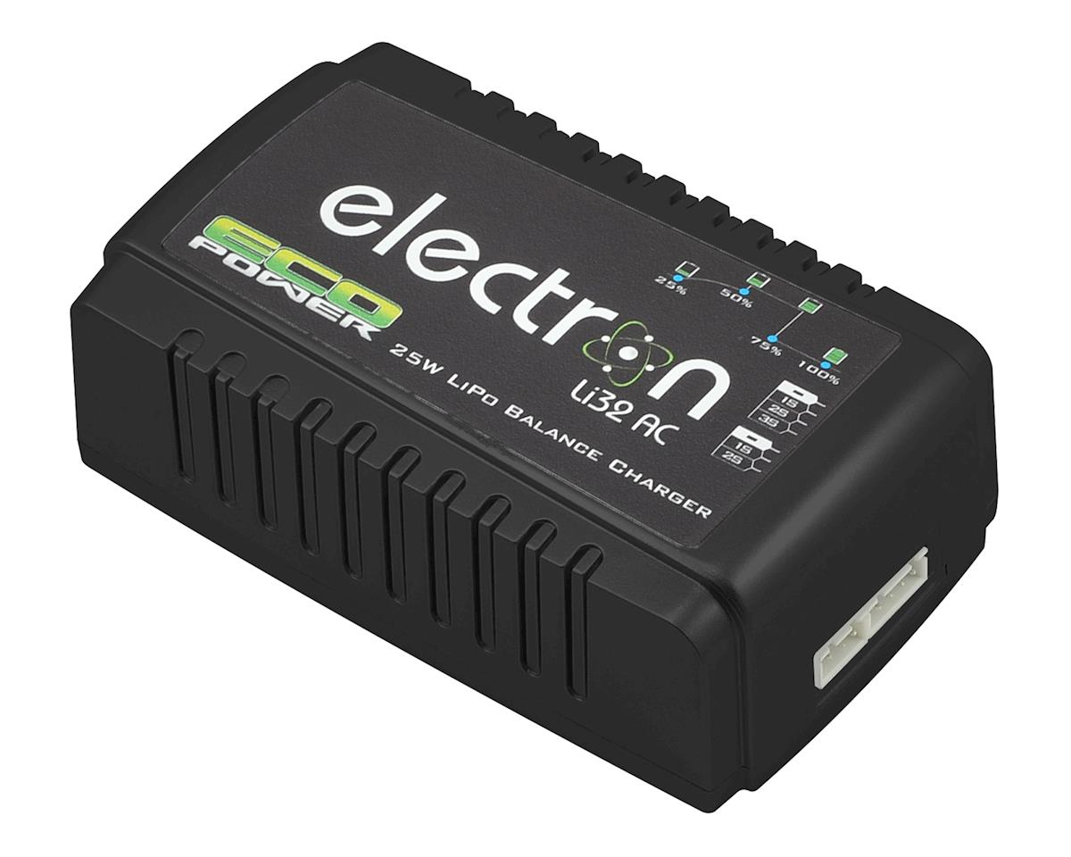 """Electron Li32 AC"" LiPo Balance Battery Charger (2-3S/2A/25W) by EcoPower"
