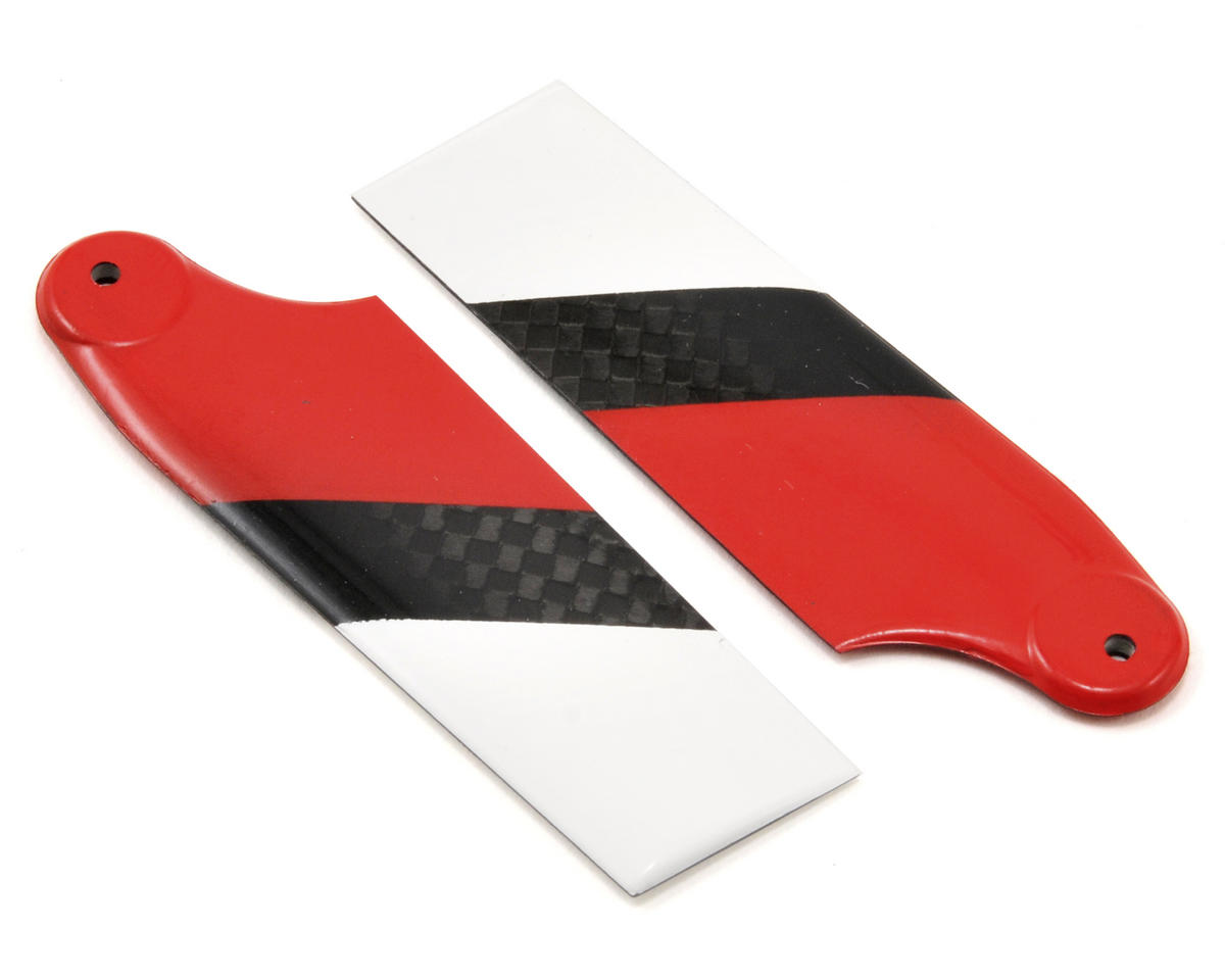 EcoPower Carbon Fiber Tail Rotor Blades (62mm)