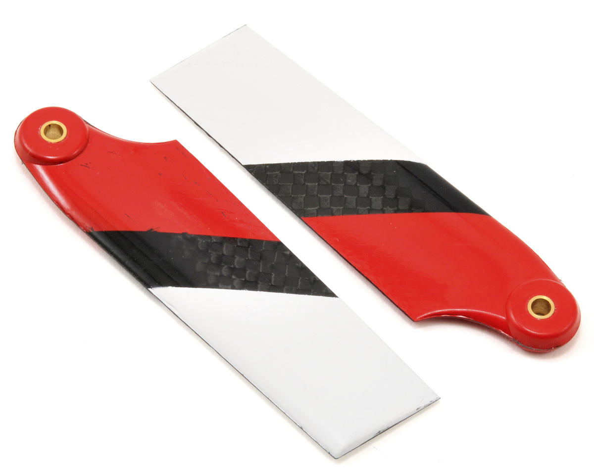 EcoPower Carbon Fiber Tail Rotor Blades (70mm)