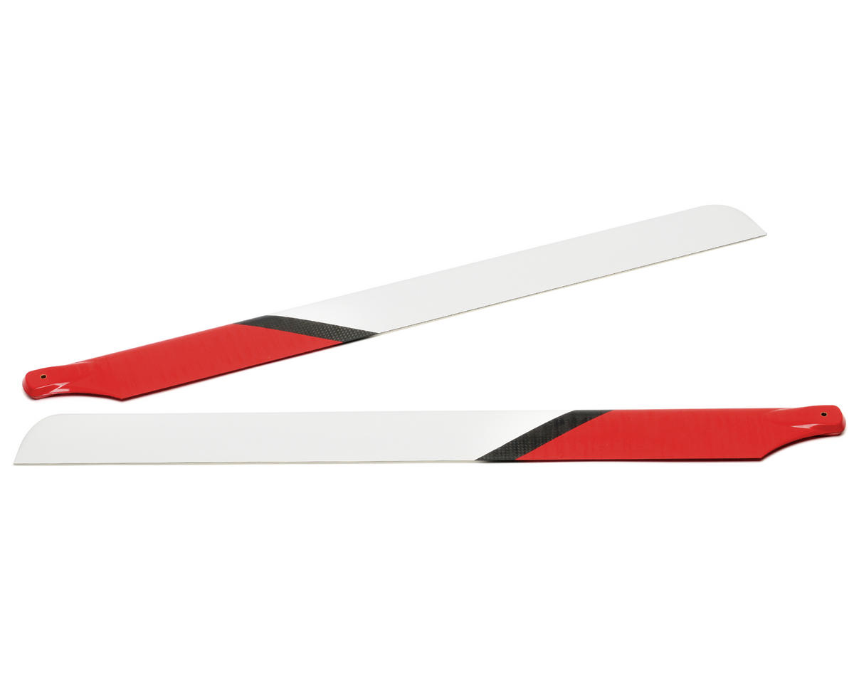 EcoPower Carbon Fiber Main Rotor Blades (550mm)