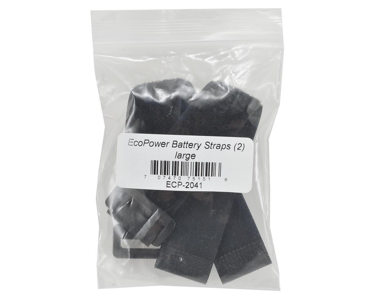 EcoPower Hook & Loop Battery Strap (2) (25x270mm)
