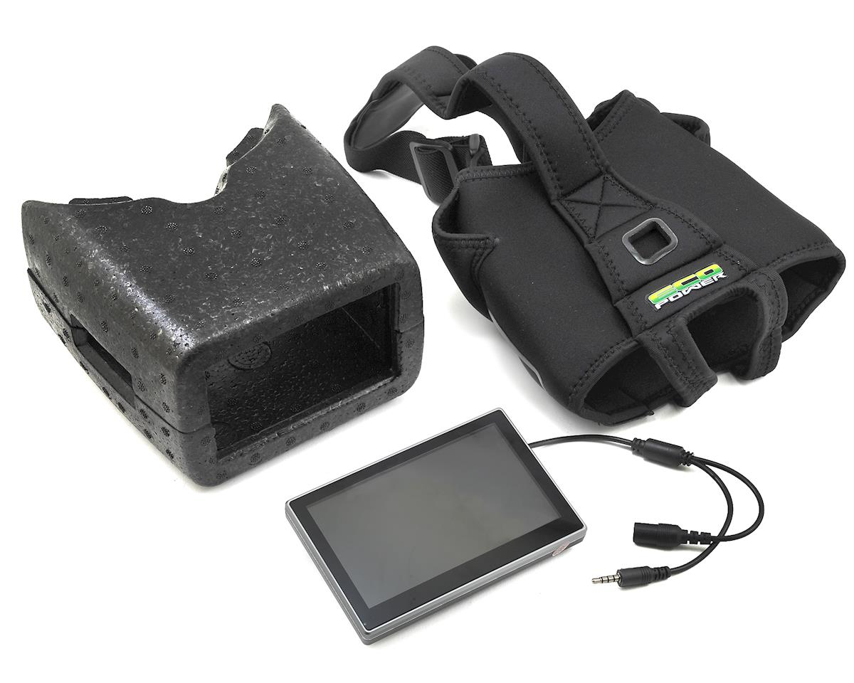 EcoPower FPV Headset Goggle Combo w/Video Receiver