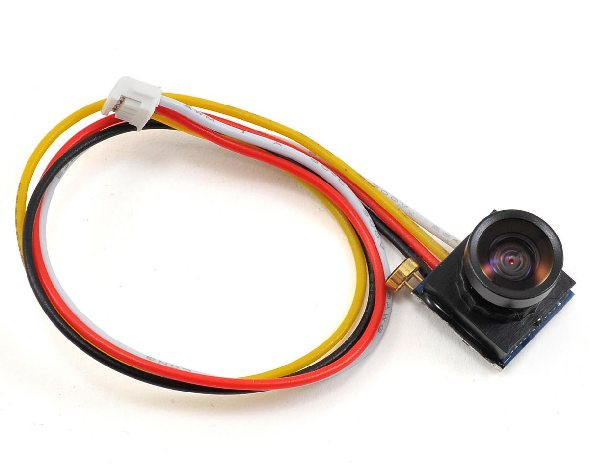 EcoPower 600TVL 1/4 1.8mm CMOS FPV Camera w/170° Wide Angle Lens (NTSC)