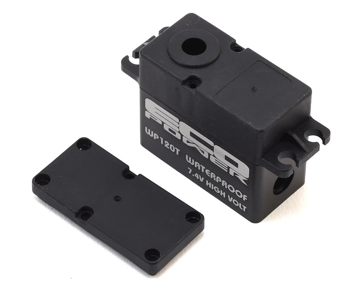 EcoPower WP120T Plastic Upper & Lower Servo Case