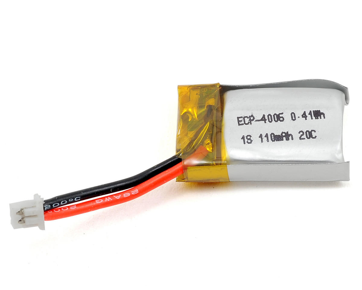 "EcoPower ""Electron"" 1S LiPo 20C Battery Pack (3.7V/110mAh) (Mosquito/Proto X)"