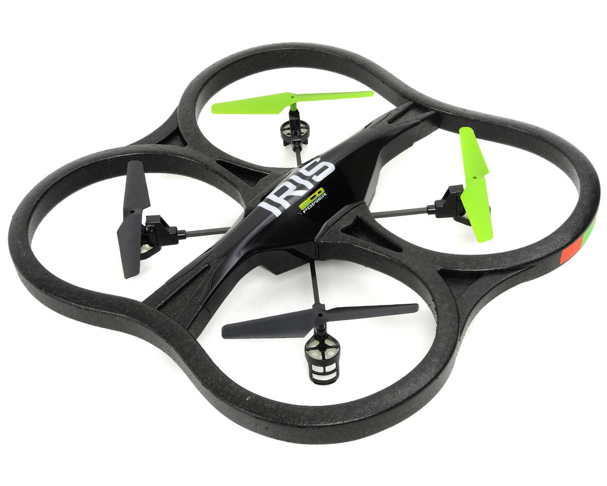"EcoPower ""IRIS"" 24"" Ready-To-Fly Quad-Copter w/Video Camera"