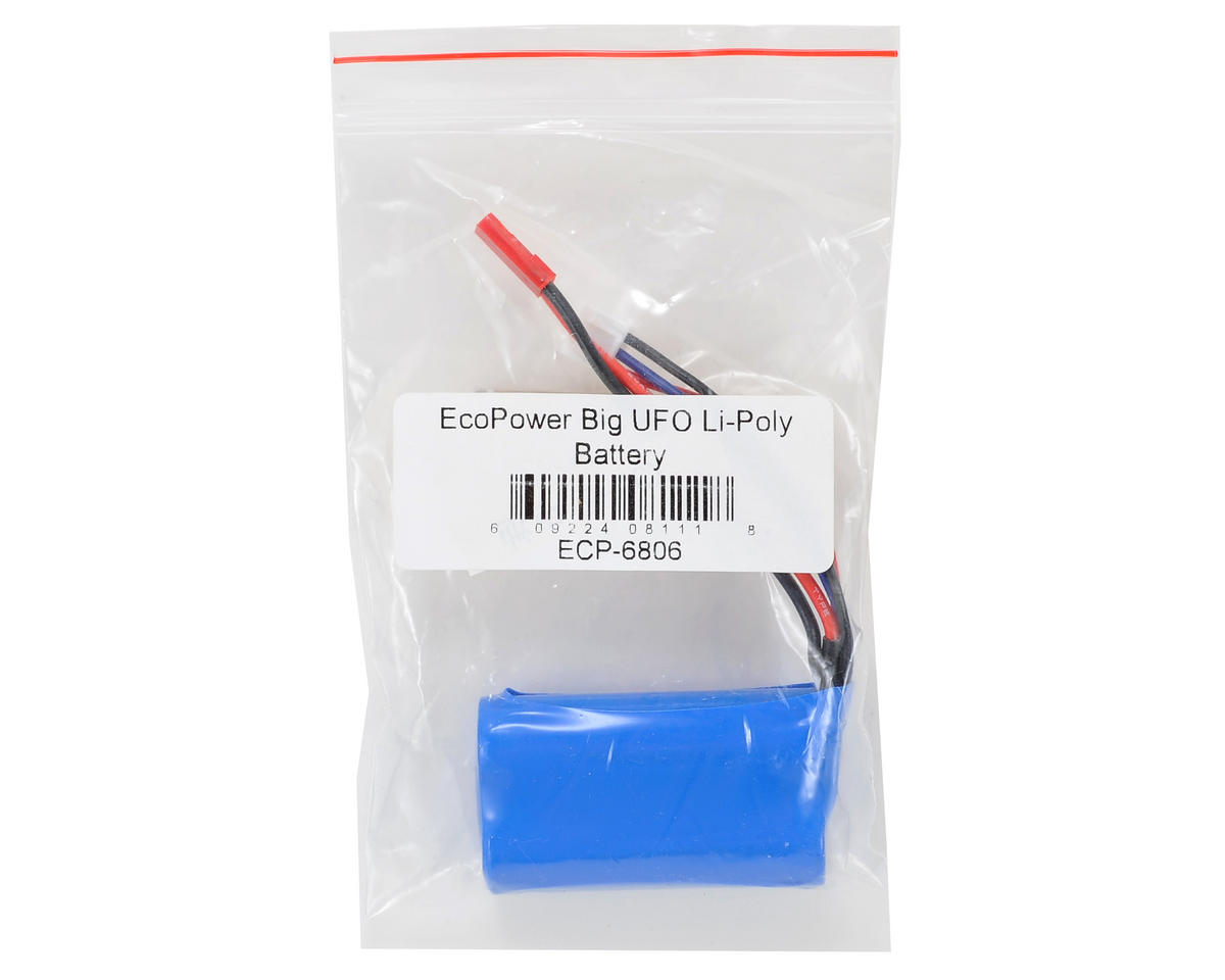EcoPower IRIS 2S Li-Ion Battery Pack (7.4V/650mAh)