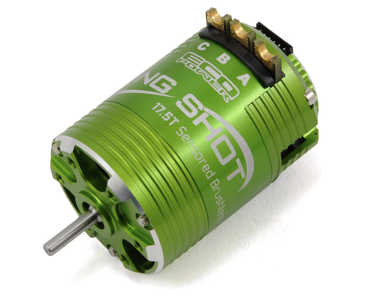 """Sling Shot"" Sensored Brushless Motor (17.5T) (ROAR Approved) by EcoPower"