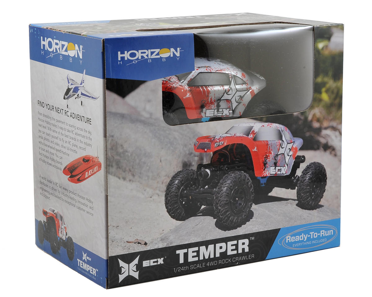 Temper 1/24 RTR Micro Rock Crawler by ECX