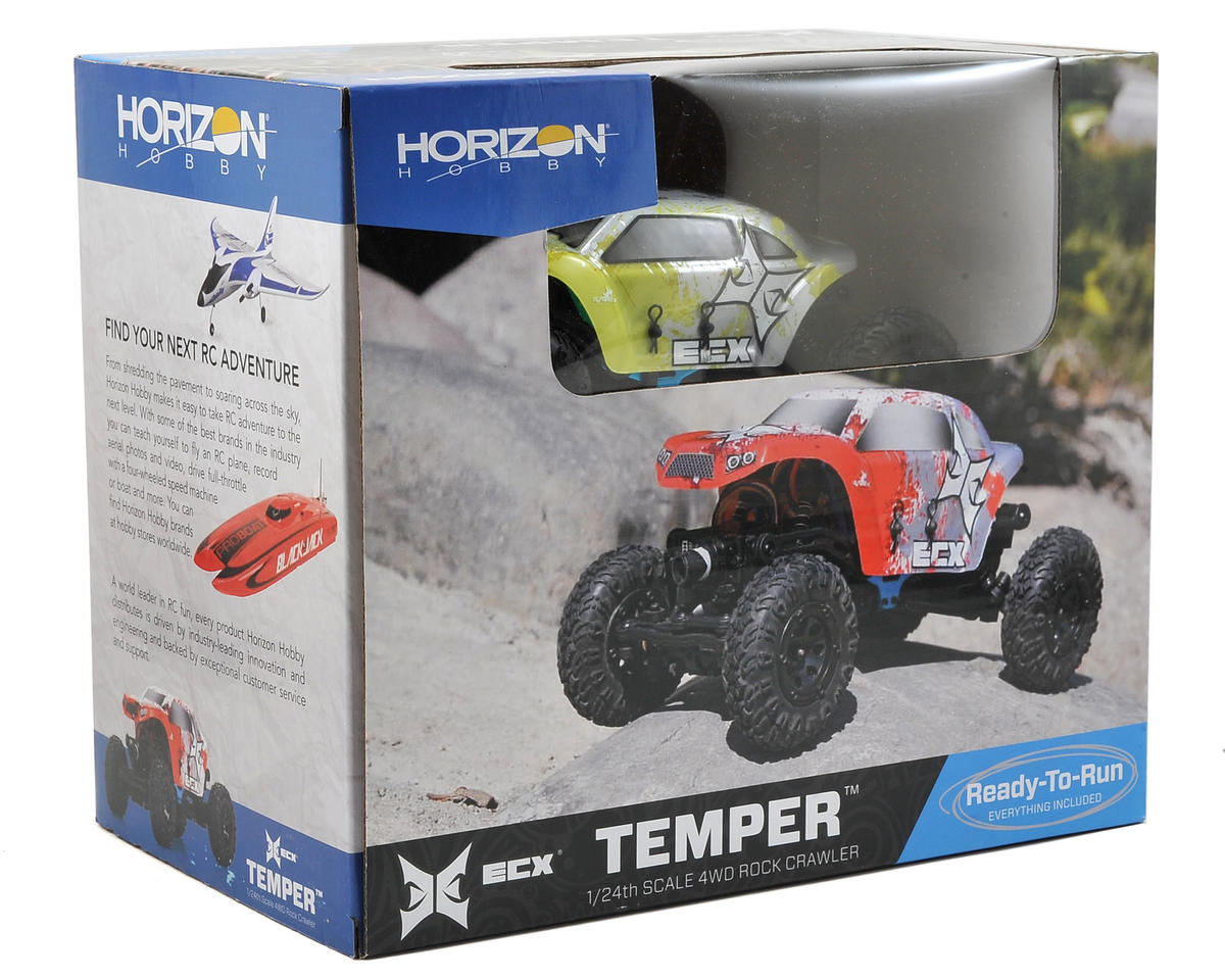 Temper 1/24 RTR Micro Rock Crawler by ECX