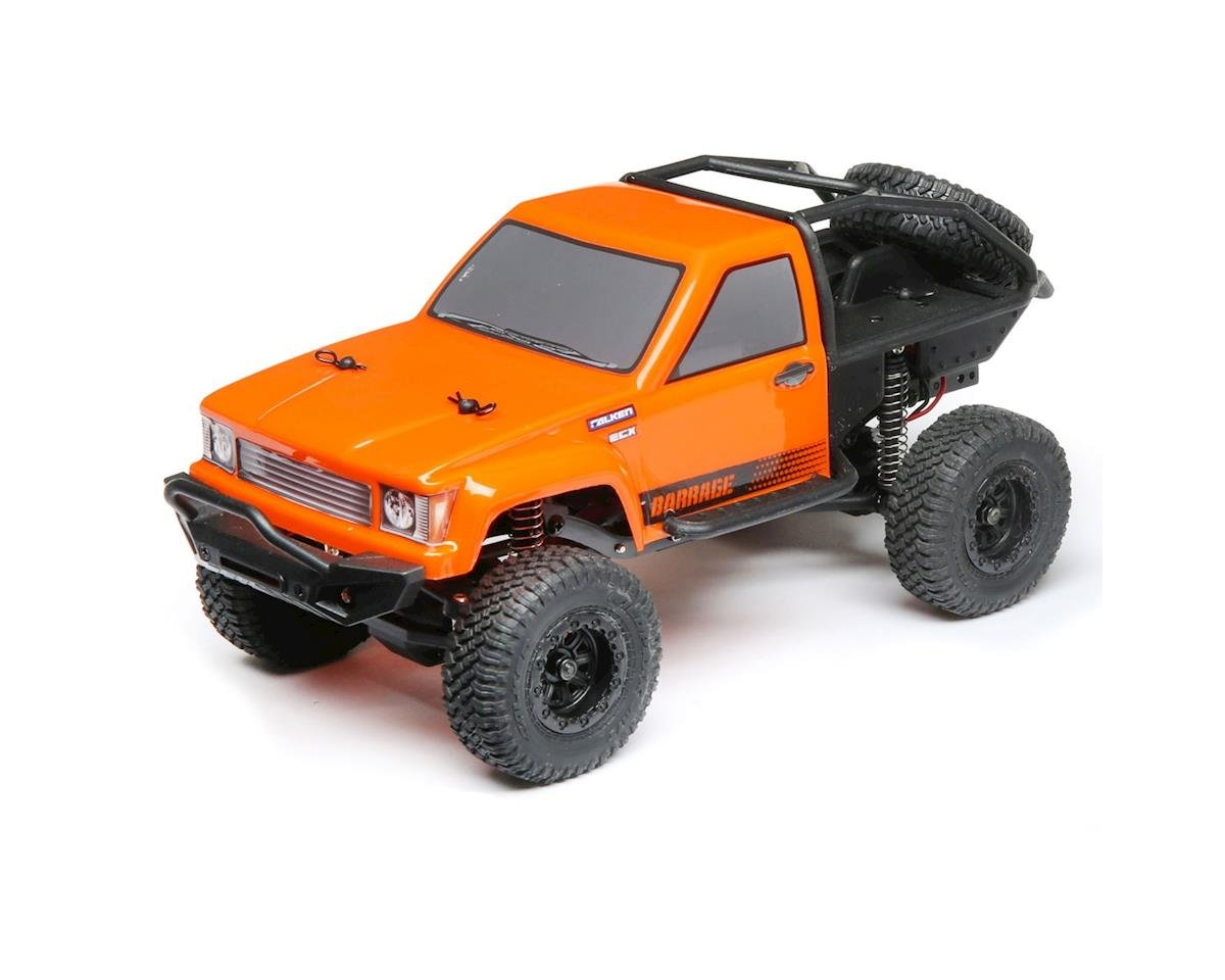ECX Barrage 1/24 RTR Micro Rock Crawler (Orange)