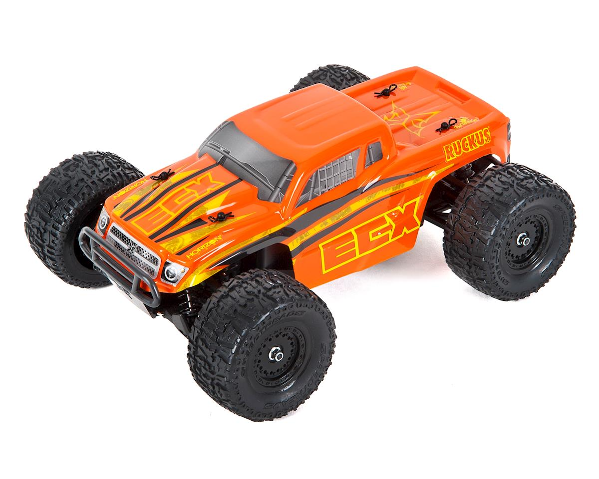 Ruckus 1/18 RTR 4WD Electric Monster Truck by ECX