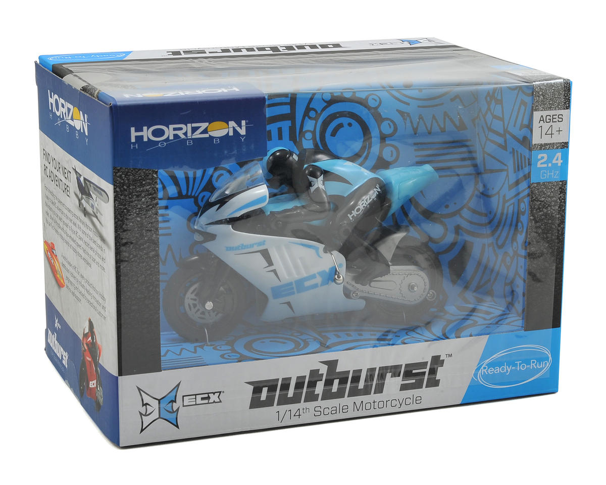 Outburst 1/14 RTR Mini Motorcycle by ECX