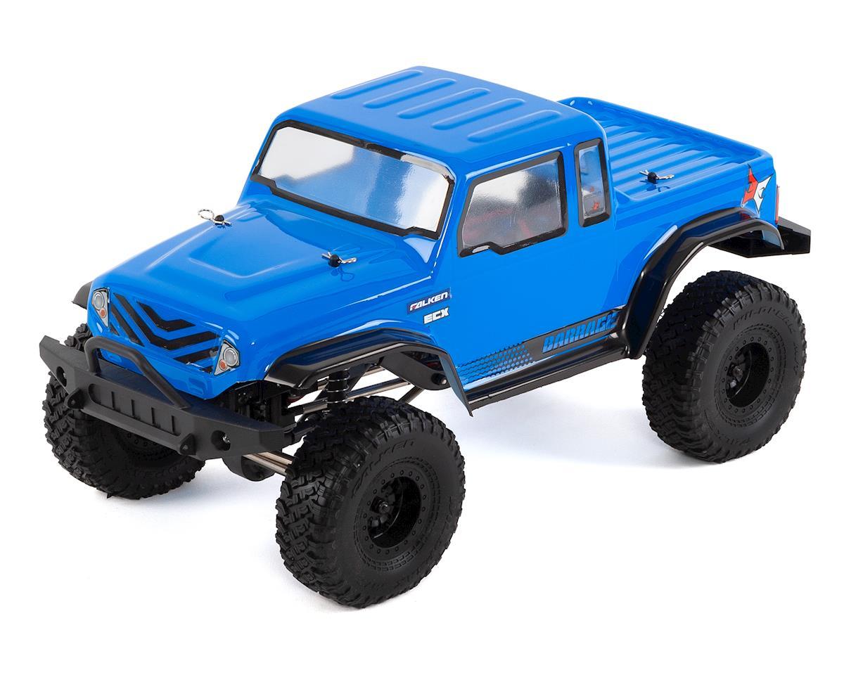 """ECX Barrage Gen2 1.55"""" 1/12 4WD RTR Crawler (Blue)"""