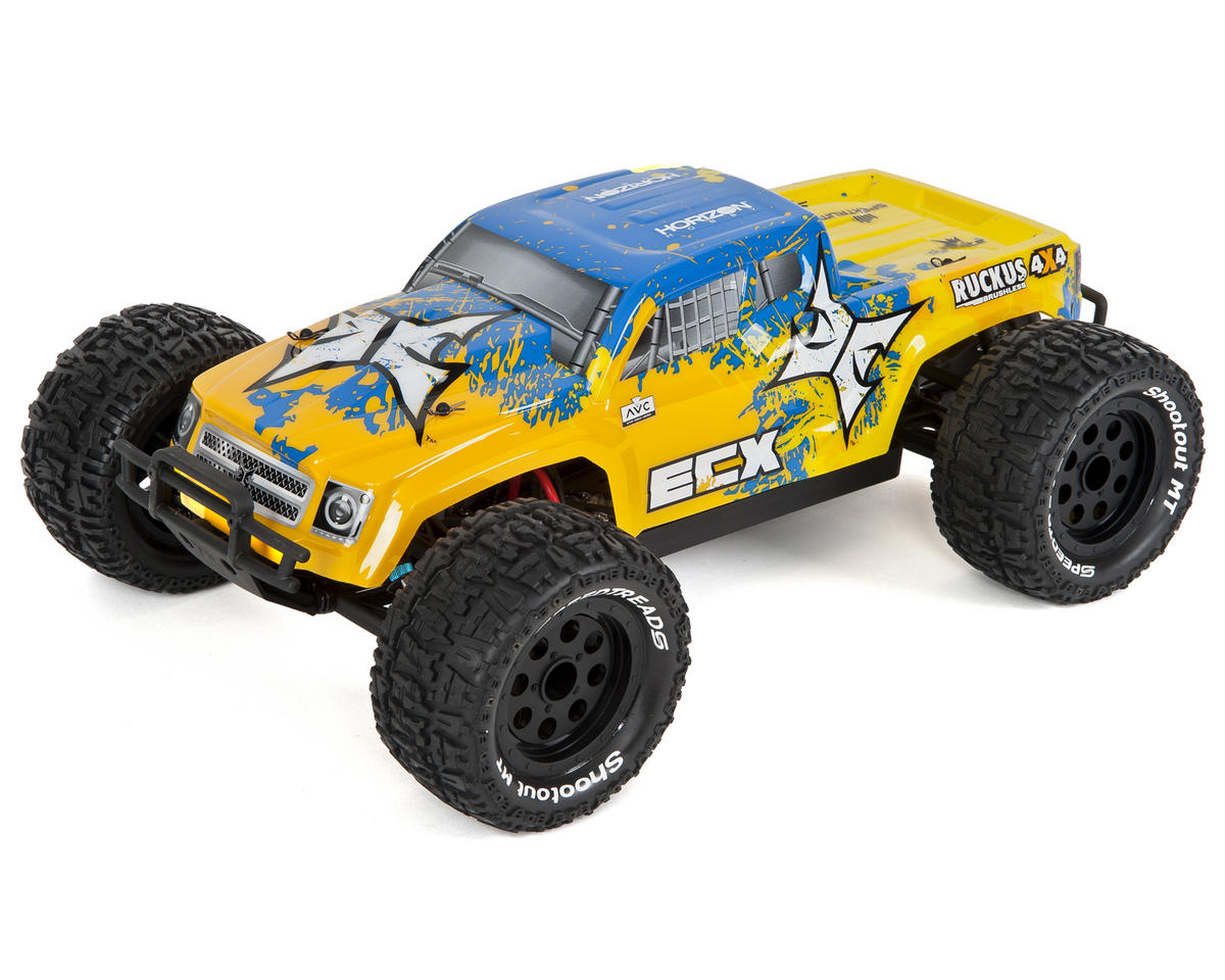 RC Ruckus 1/10 RTR Monster Truck