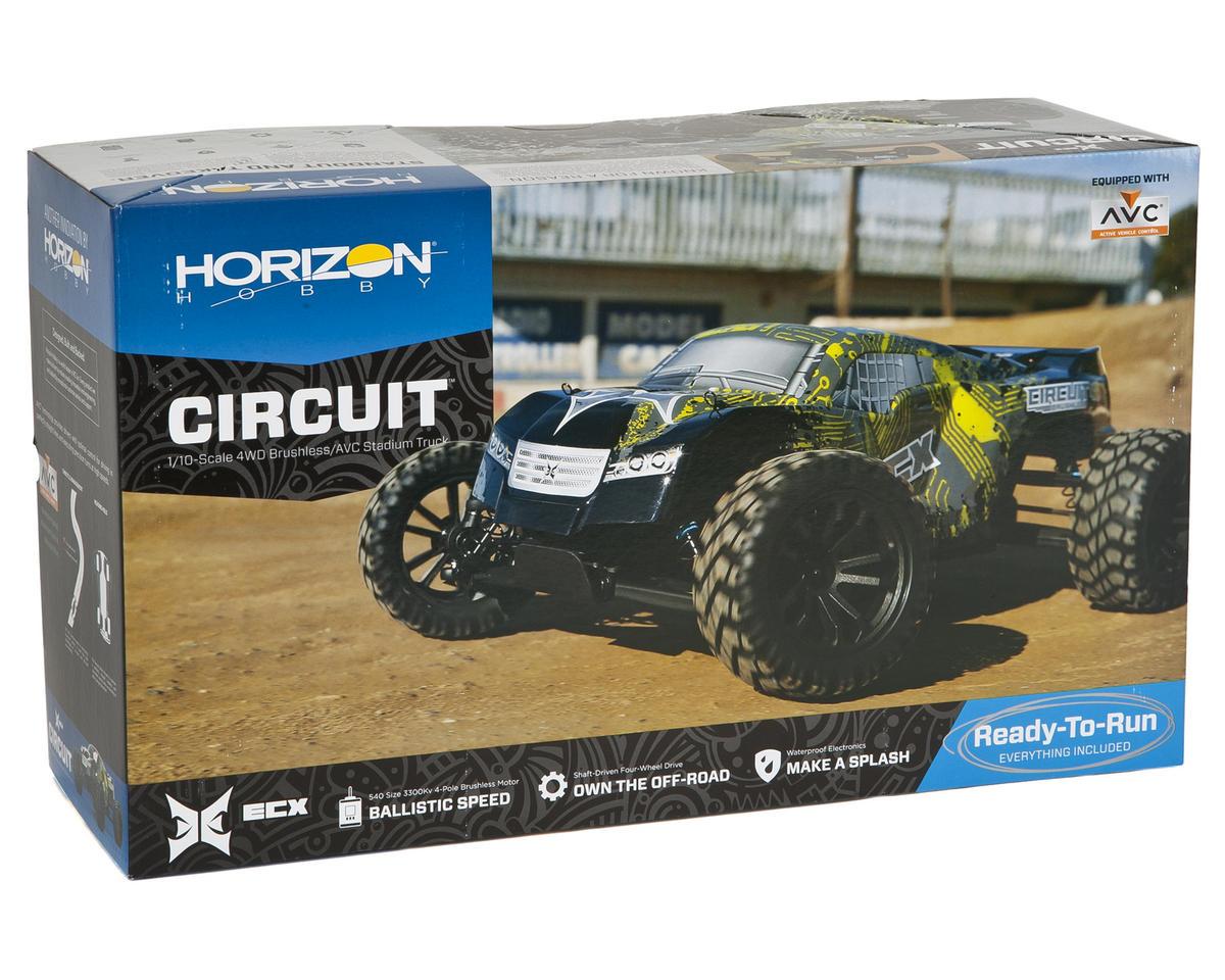 ECX RC Circuit 1/10 RTR 4WD Stadium Truck