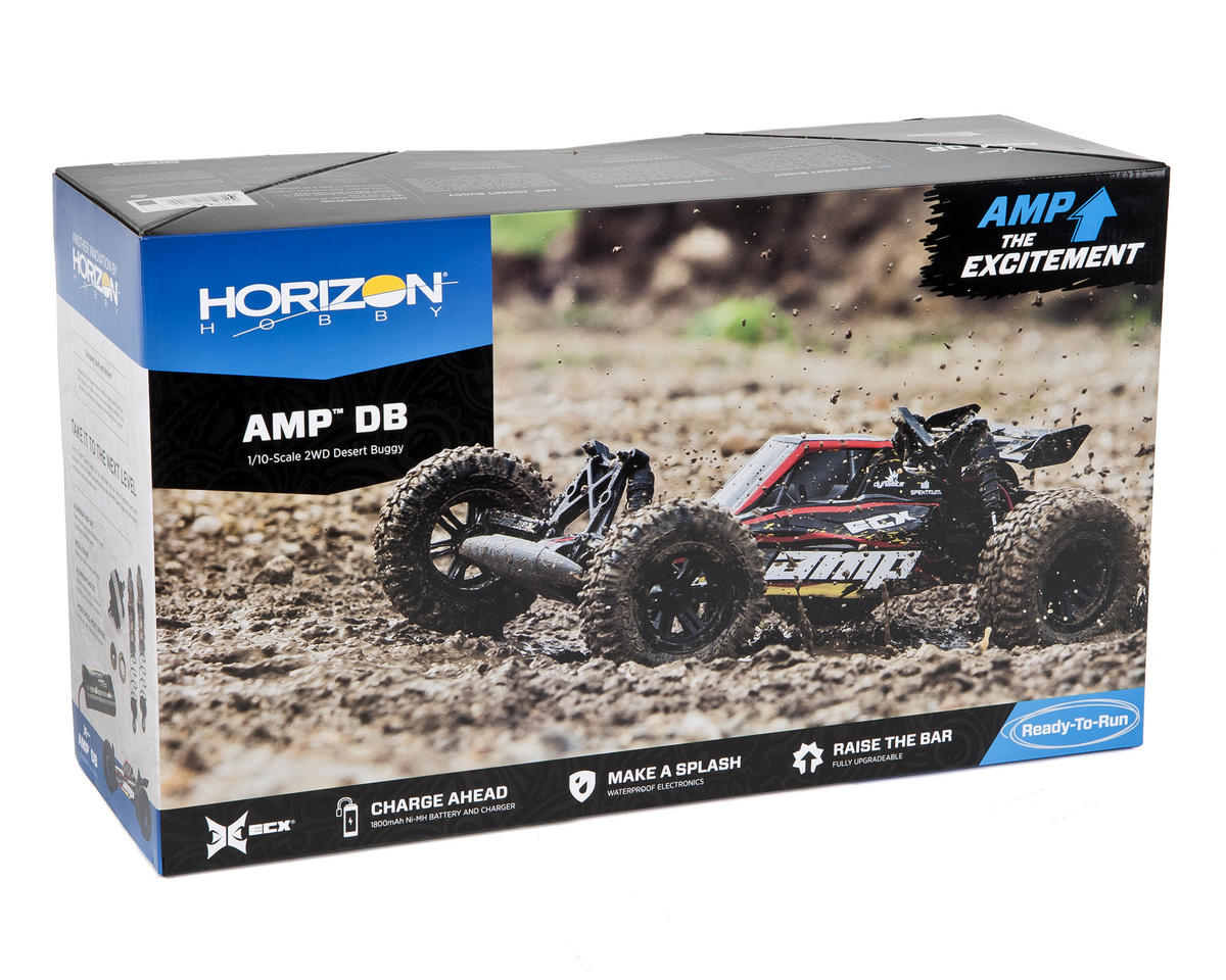 ECX AMP 1/10th Electric 2WD Desert Buggy RTR
