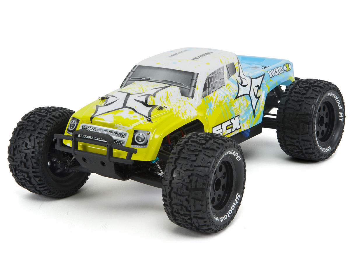 RC Ruckus 1/10 RTR 4WD Monster Truck