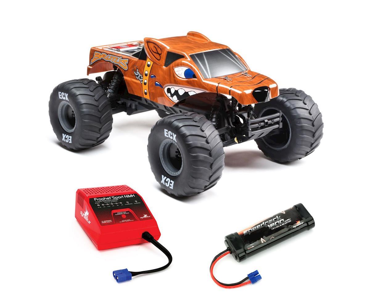 ECX Brutus 1/10 2wd Monster Truck RTR Combo