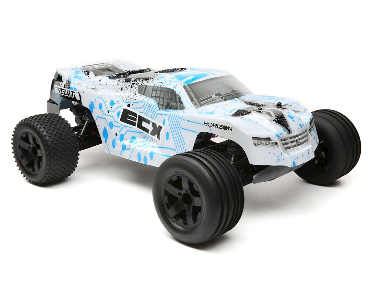 Circuit 1/10 RTR 2WD Electric Stadium Truck (White/Blue)