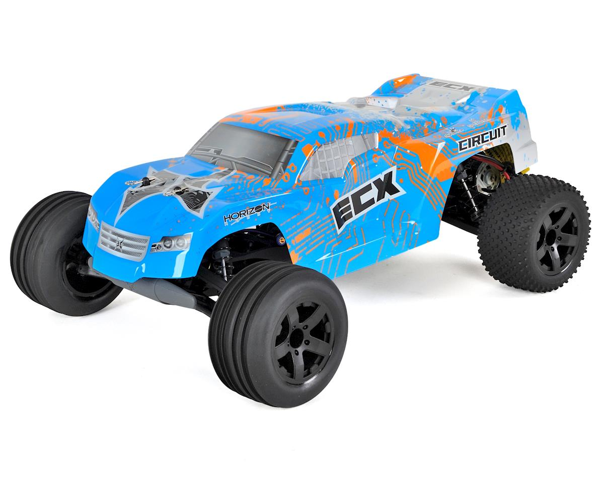 ECX Circuit 1/10 RTR 2WD Electric Stadium Truck (Blue/Orange)