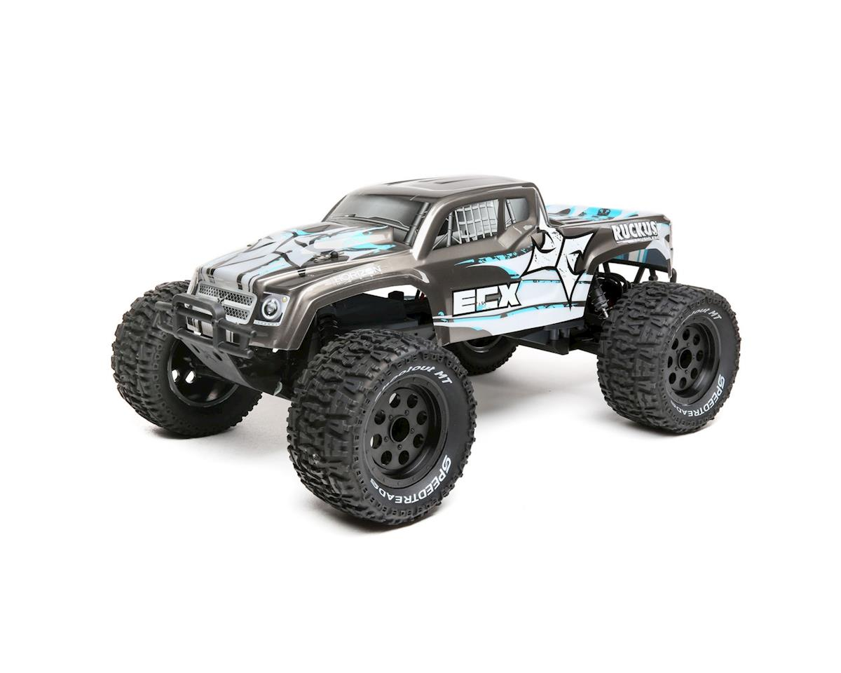 ECX Ruckus 1/10 2wd Brushless Monster Truck w/2.4GHz Radio