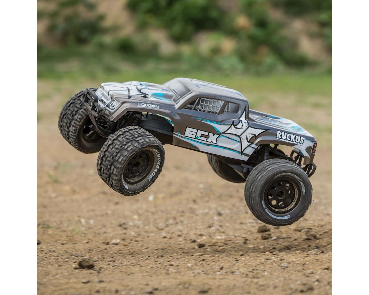 ECX Ruckus 1/10 2wd Brushless Monster Truck w/2.4GHz Radio