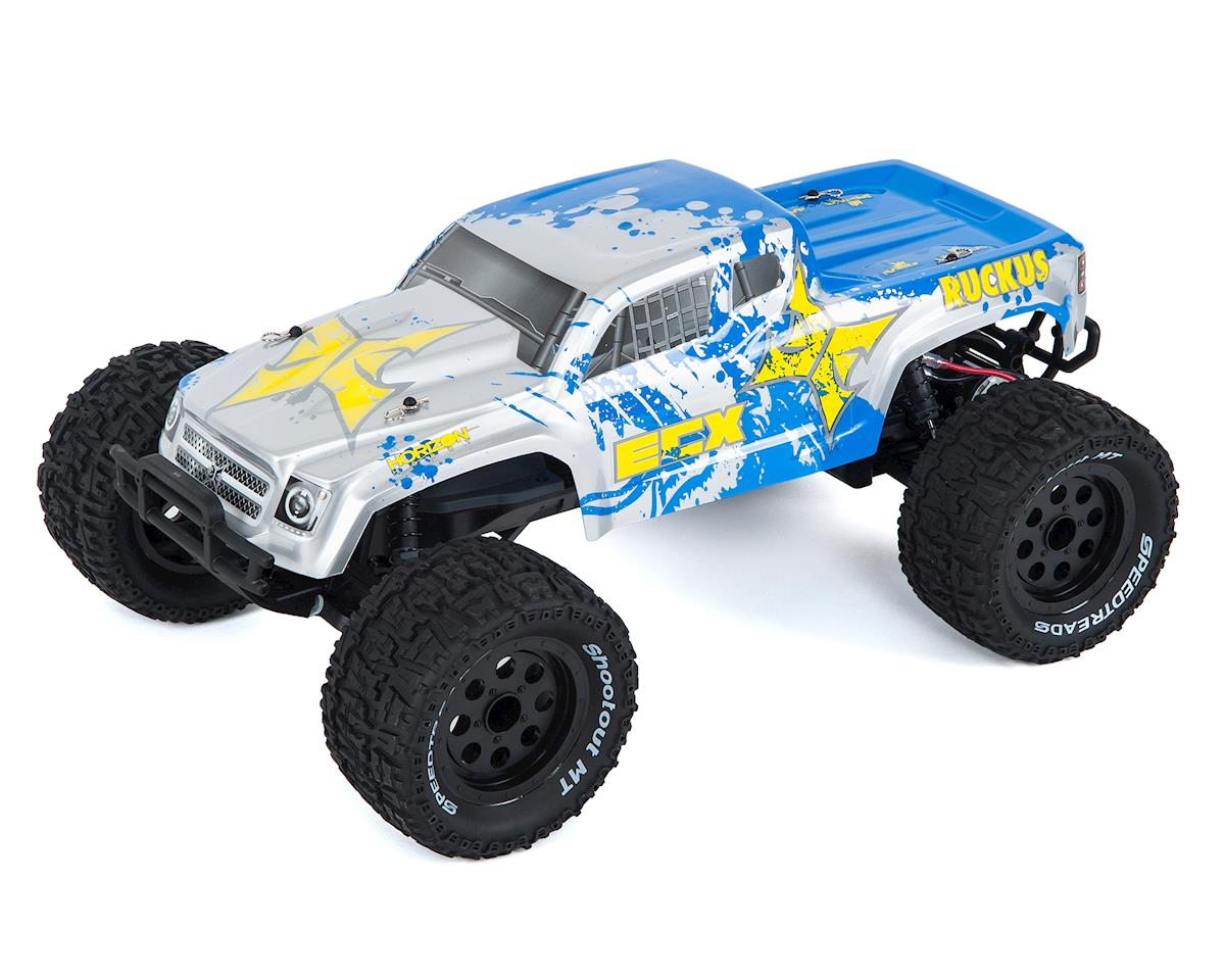 Ruckus 1/10 2WD RTR Electric Monster Truck (Silver/Blue)