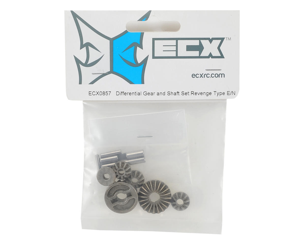 ECX RC Differential Gear & Shaft Set