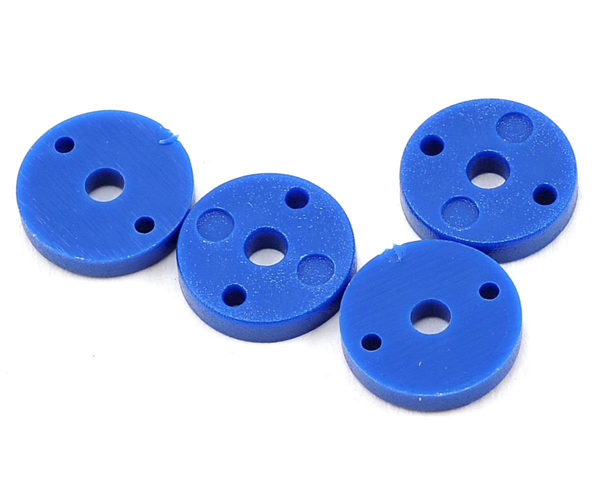 ECX RC Shock Piston (Blue) (2-Hole) (4)