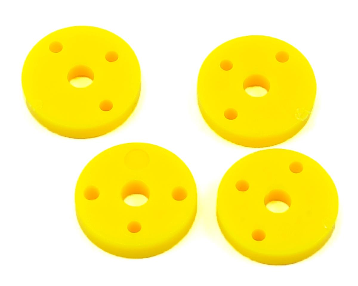 ECX RC Shock Pistons (Yellow) (3-Hole) (4)
