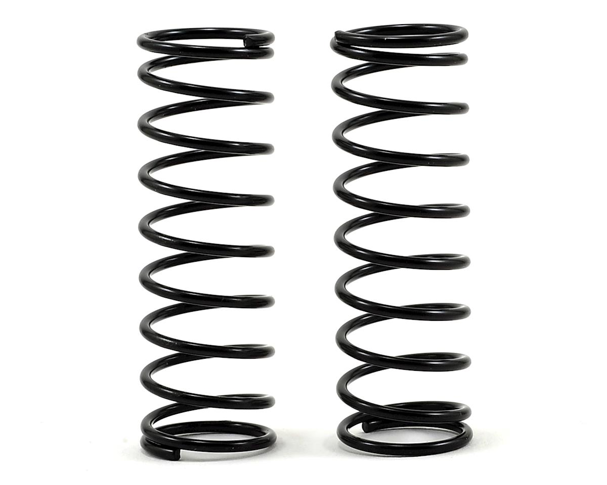Front Shock Spring (2) (Black - 1.7) by ECX