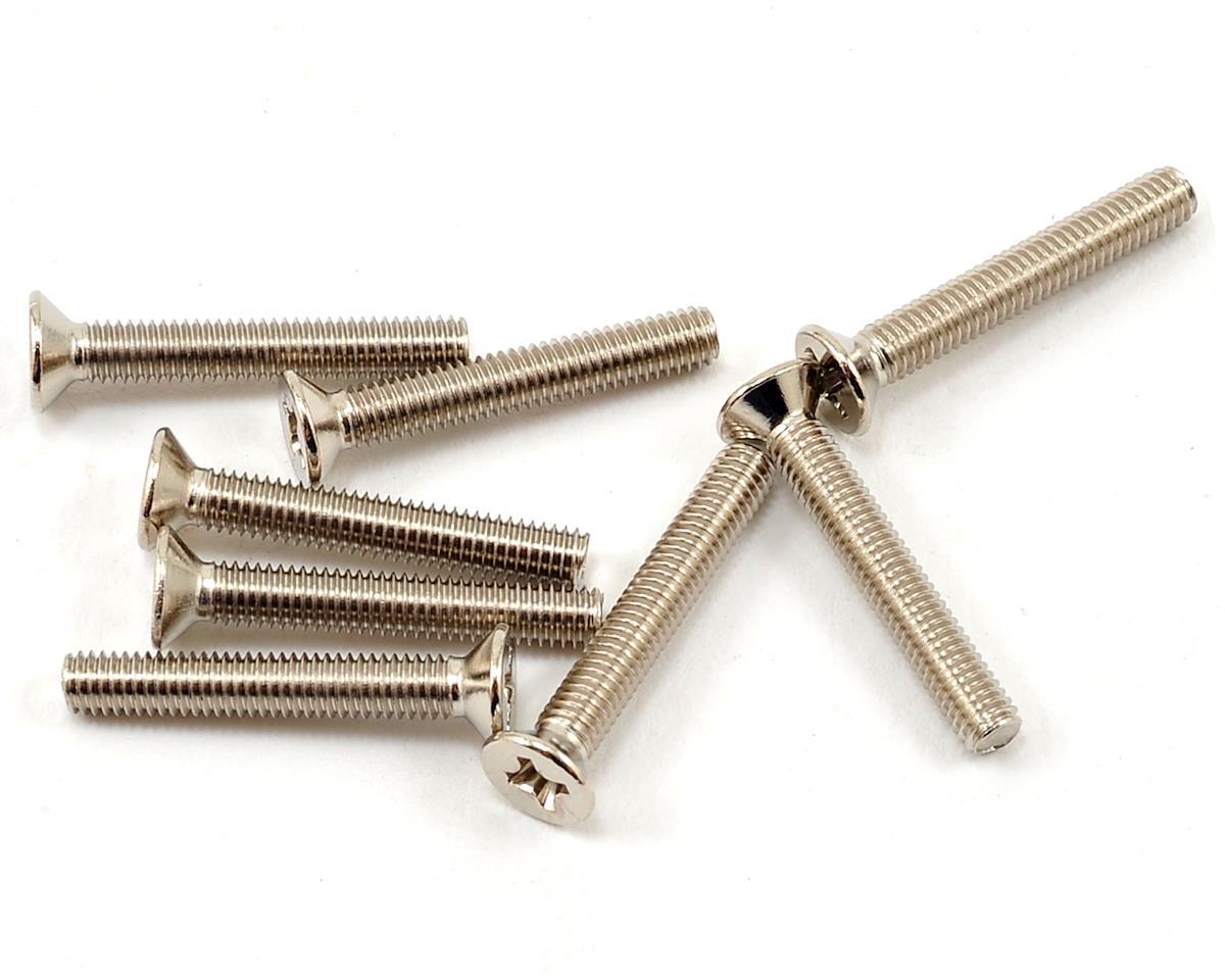 ECX RC 3x20mm Flat Head Machine Screws (8)